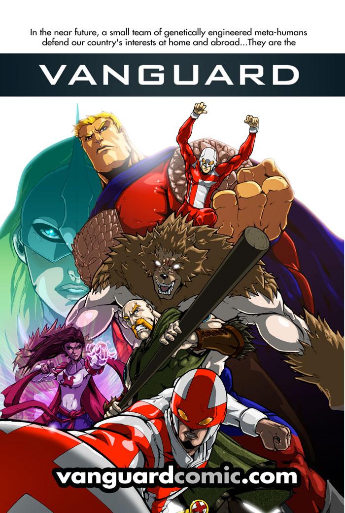 Trailer Poster- The Vanguard