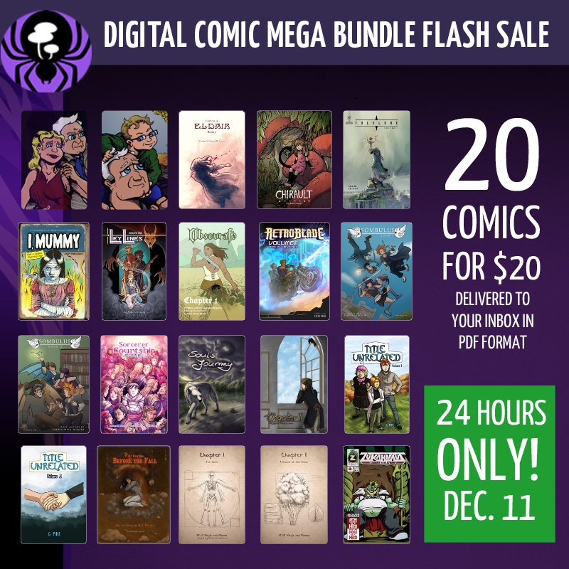 -INTERMISSION- SpiderForest Comics Flash Sale!